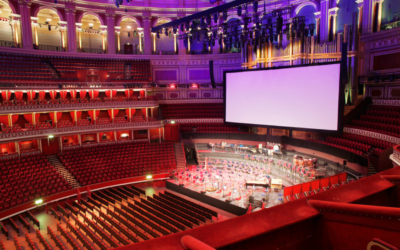 View From Your Seat Big Screen Events Royal Albert Hall