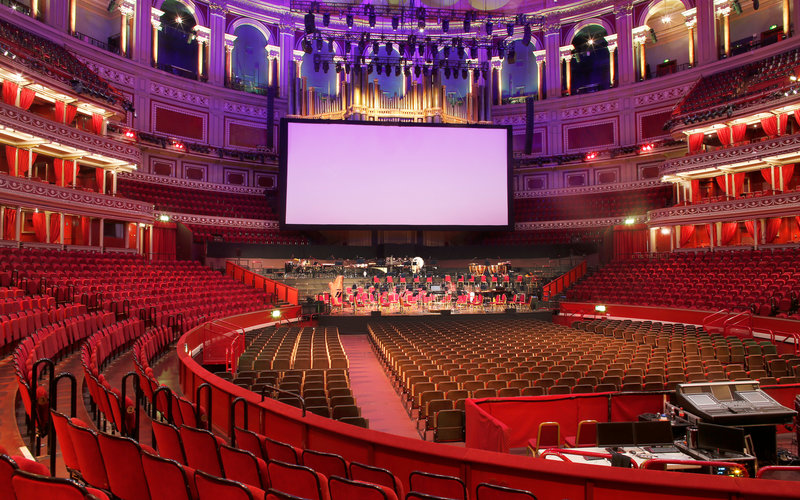 View from your seat big screen events royal albert hall for Door 6 royal albert hall