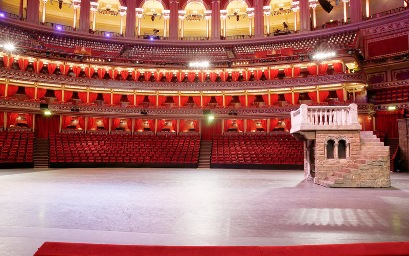 View from your seat in the round royal albert hall for Door 8 royal albert hall