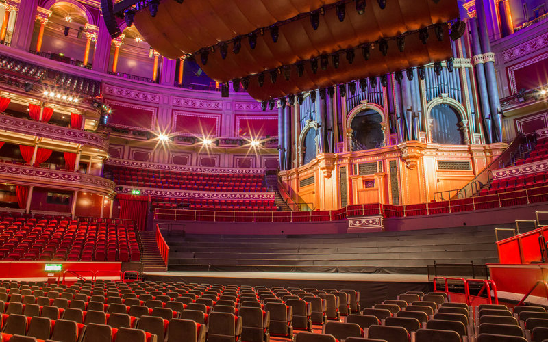 View from your seat standard layout royal albert hall for Door 6 royal albert hall