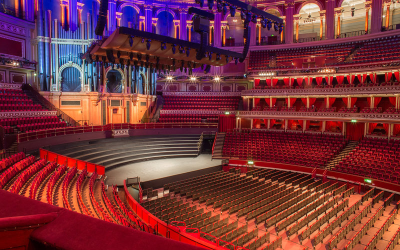 View from your seat standard layout royal albert hall for Door 4 royal albert hall