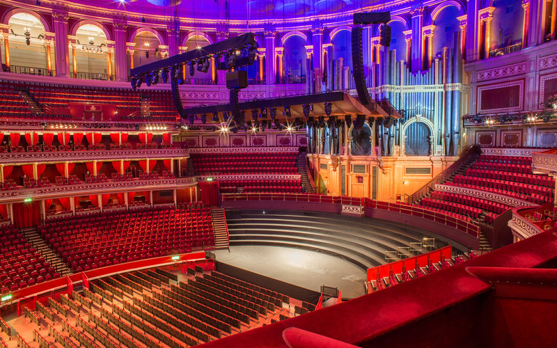 View From Your Seat Standard Layout Royal Albert Hall