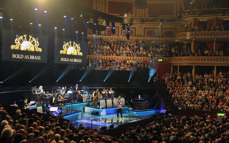 Cliff Richard at the Royal Albert Hall. Photo: Chris Christodoulou, 2010)