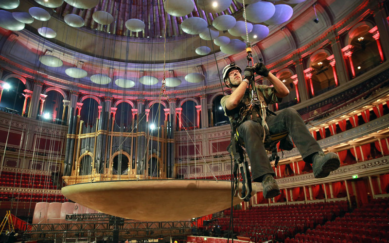 Behind the scenes at the royal albert hall 39 s maintenance for Door 9 royal albert hall