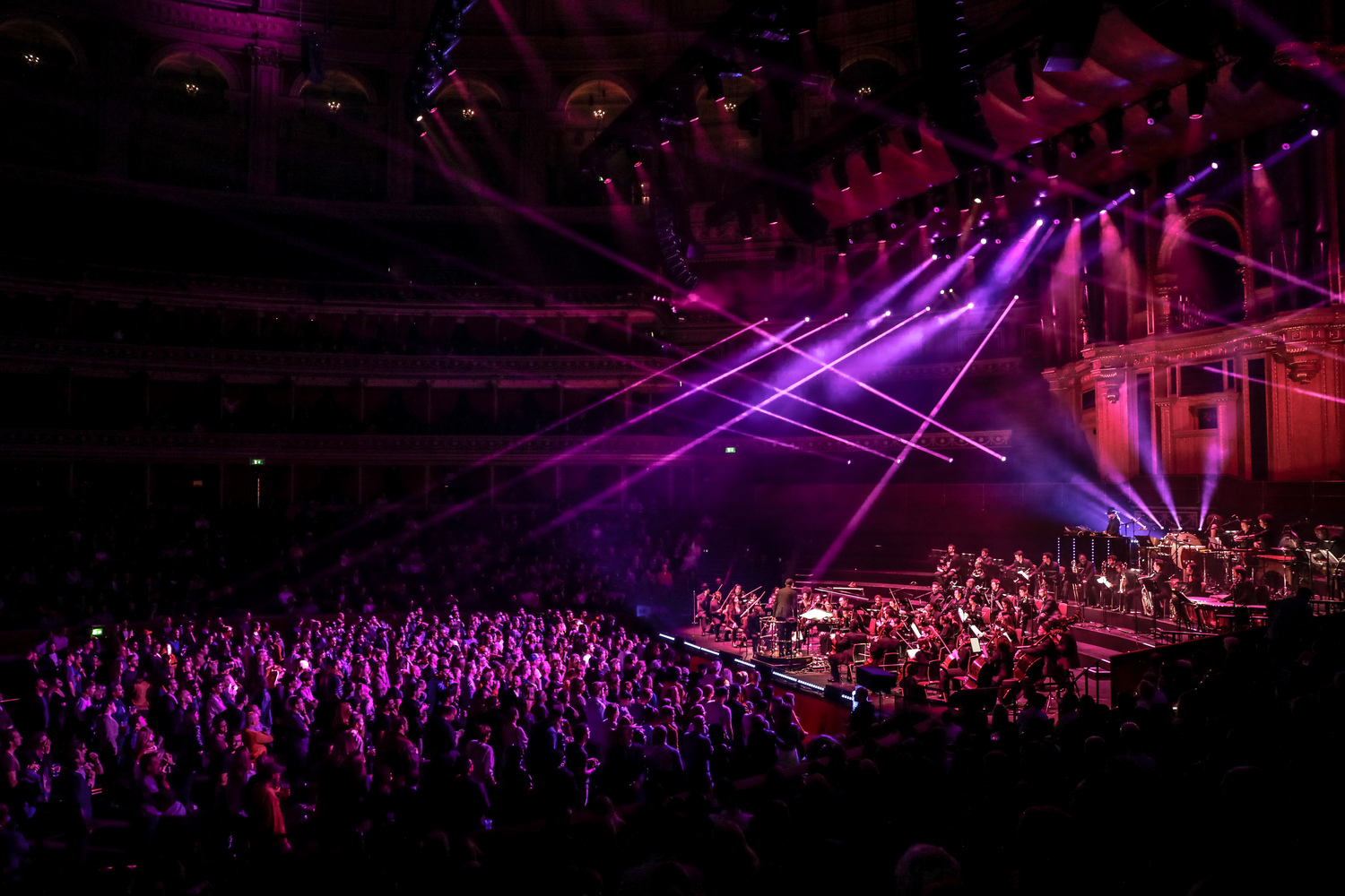 Carl Craig with Chineke! Orchestra at Royal Albert Hall. Photo by ©Christie Goodwin.